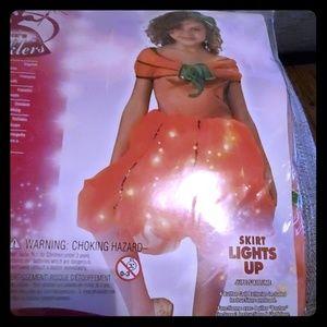 Nwot Rubio's twinklers toddler pumpkin princess